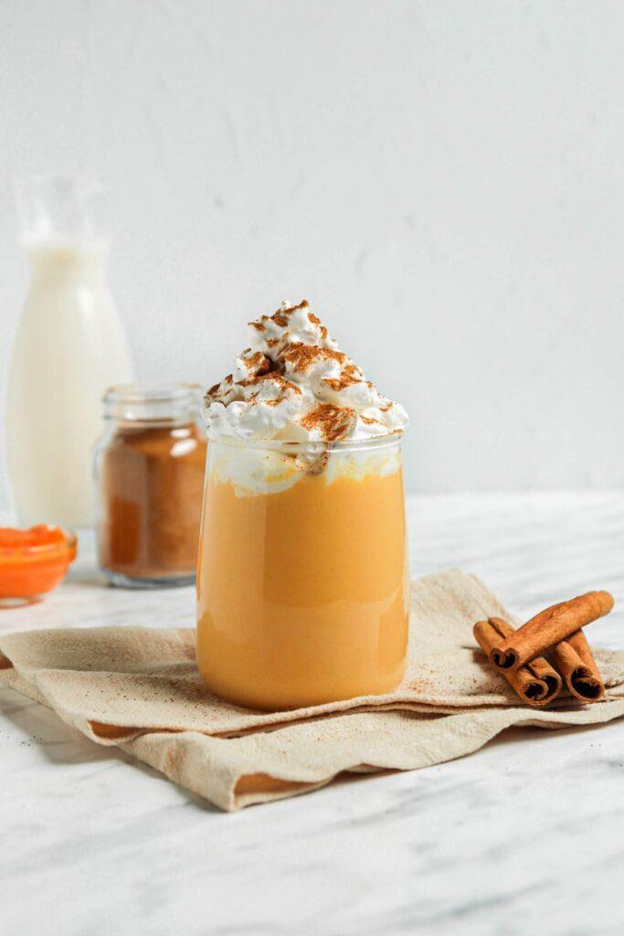 Homemade Pumpkin Milk