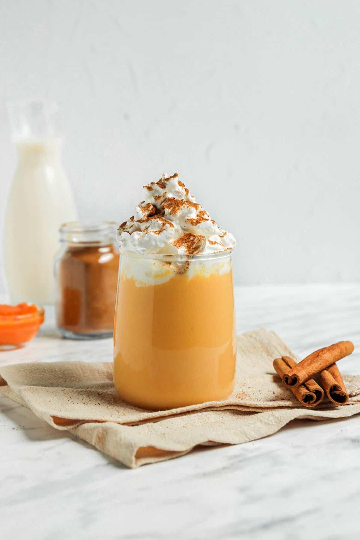 Easy Homemade Pumpkin Milk (vegan + paleo)