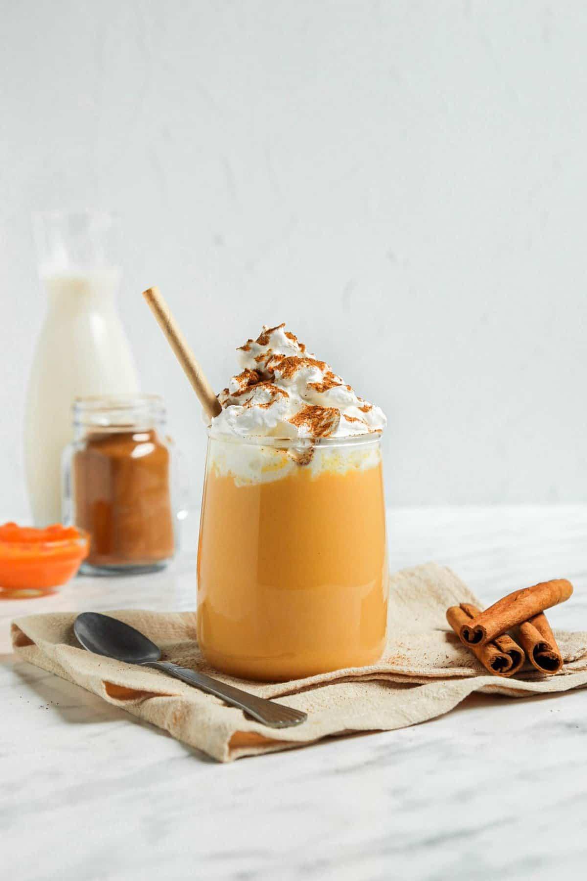 Dairy-Free Pumpkin Milk