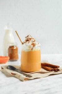 Homemade Pumpkin Spice Milk