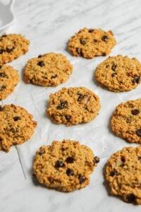 Vegan Pumpkin Breakfast Cookies
