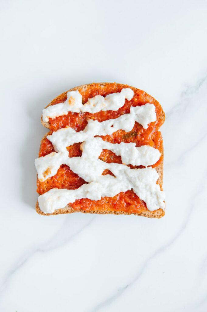 Vegan Pizza Toast