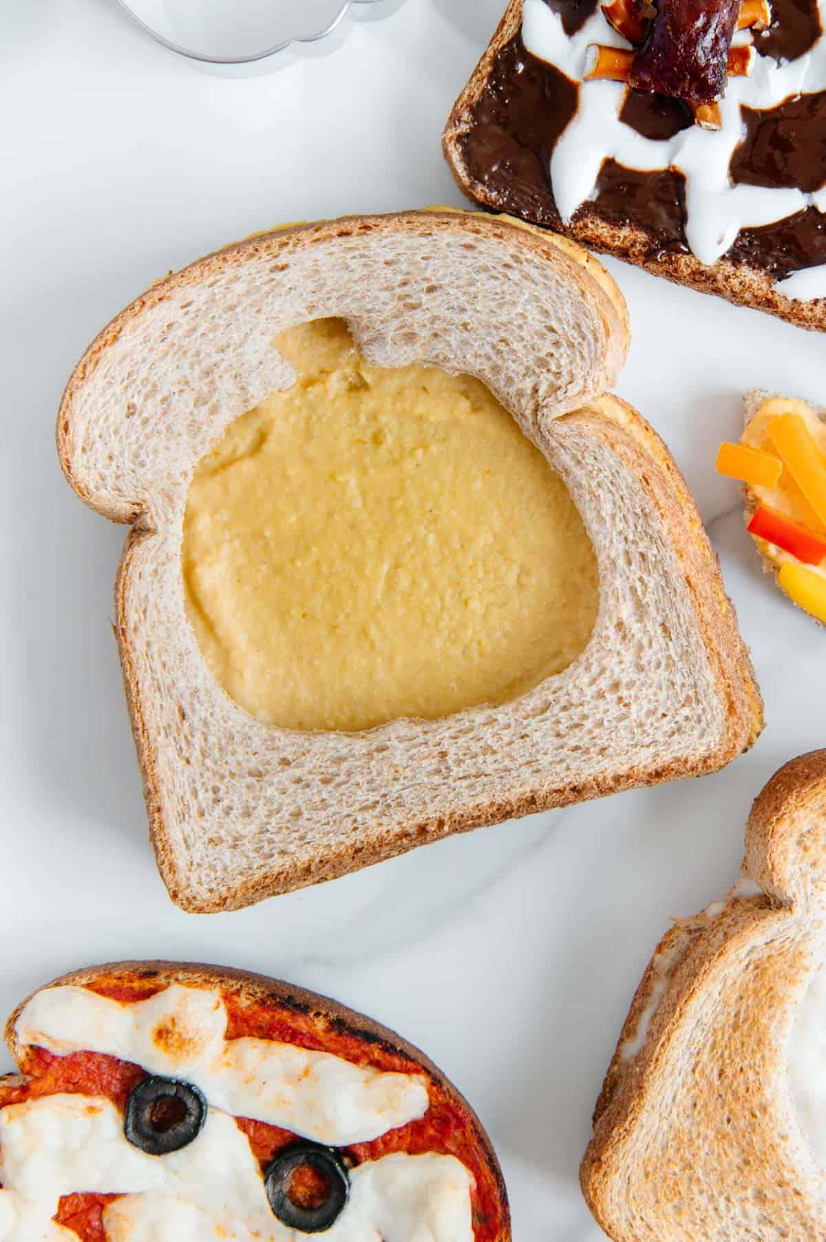 Gluten-Free Halloween Pumpkin Toast