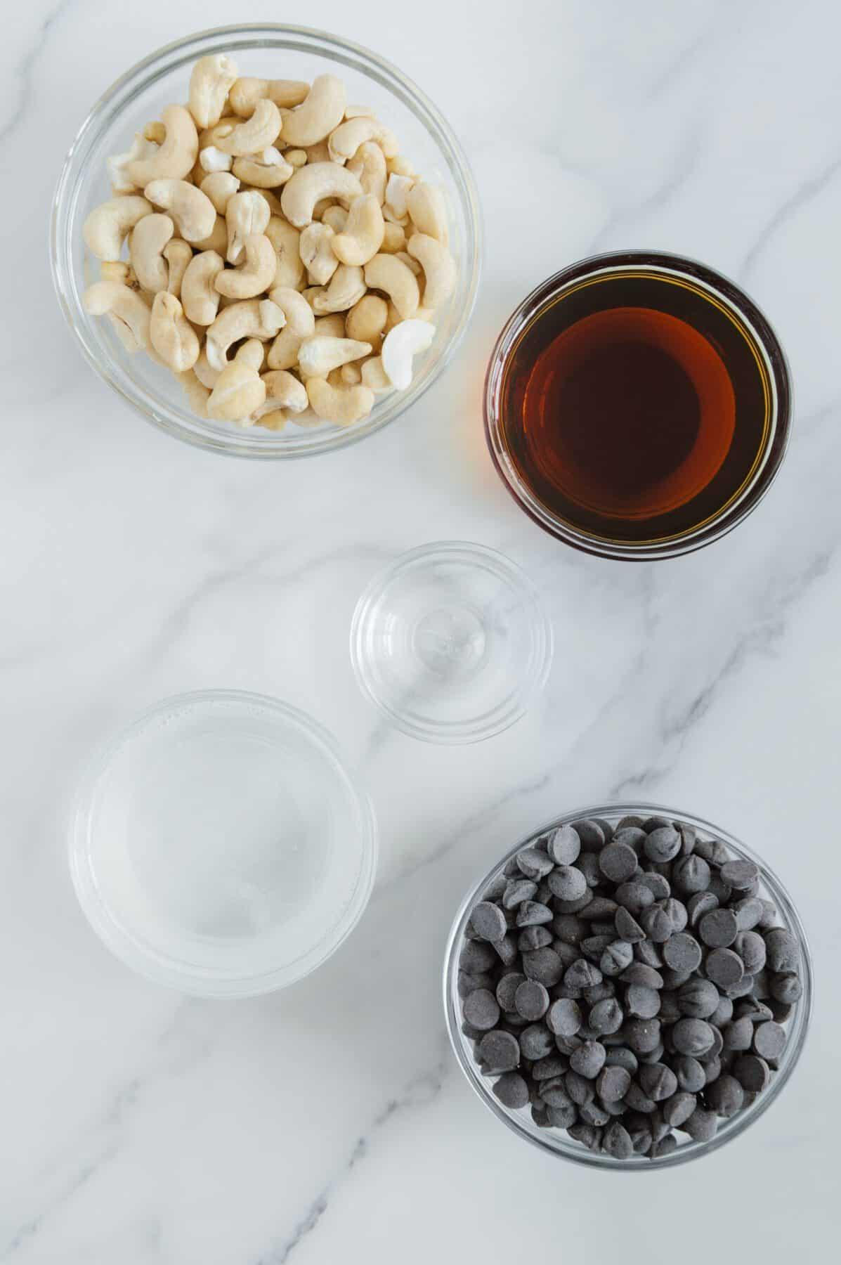 Vegan Peppermint Patties Ingredients