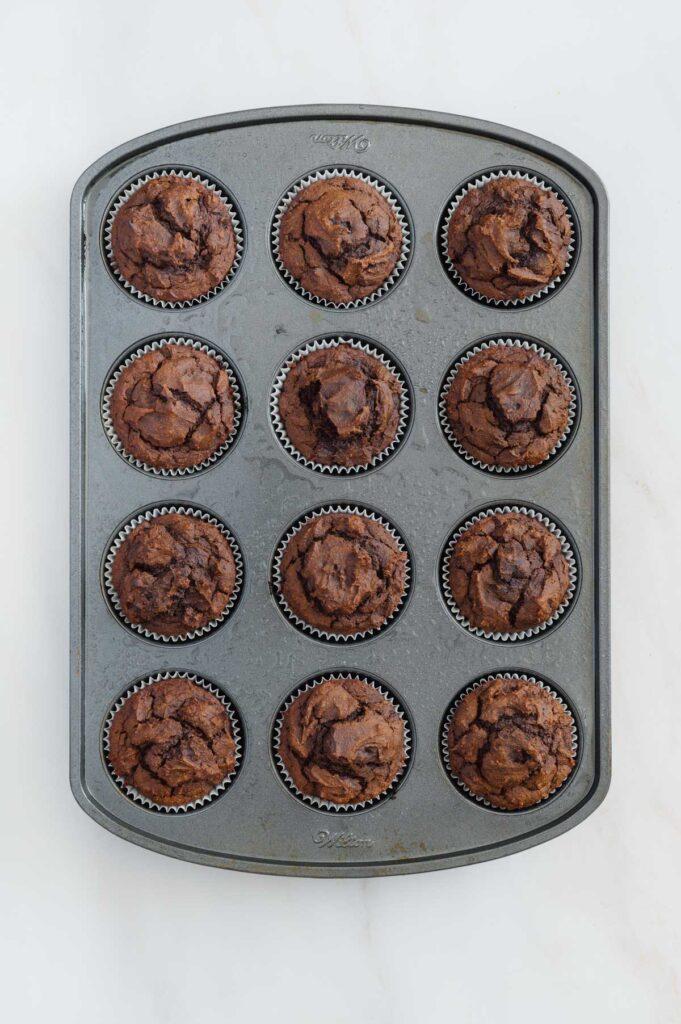 How to Make Chocolate Pumpkin Muffins
