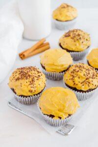 Vegan Pumpkin Chocolate Muffins
