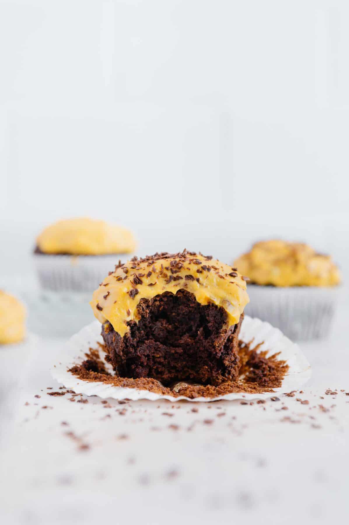 Gluten-Free Pumpkin Chocolate Muffins