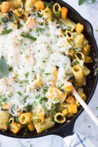 Butternut Squash Pasta with Sage