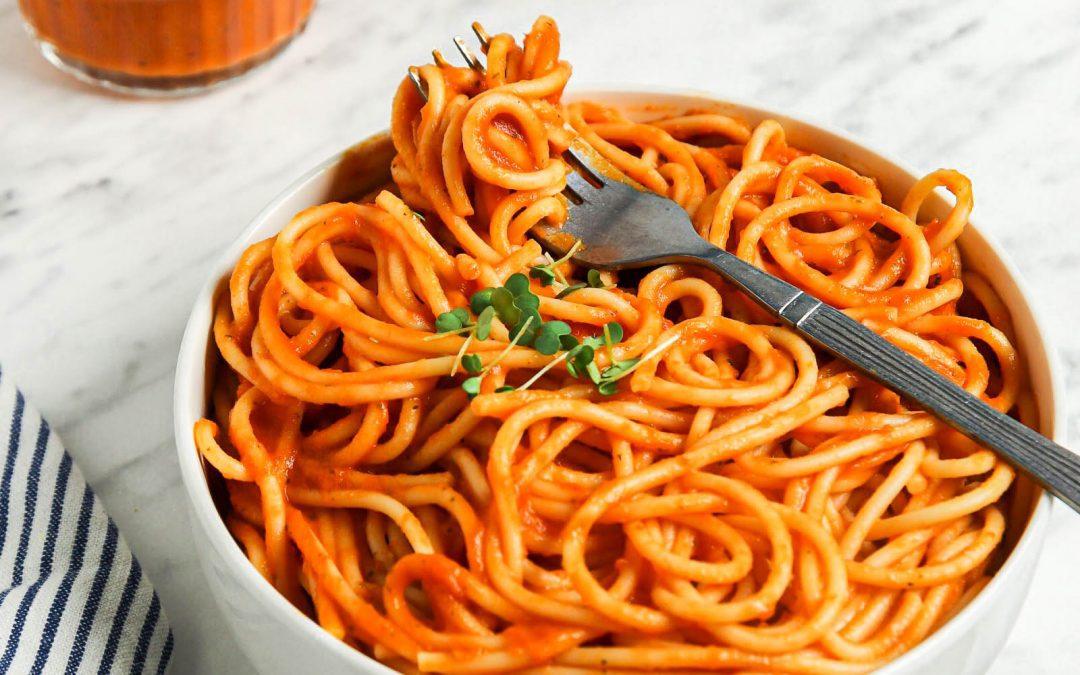 Roasted Veggie Tomato Sauce for Pasta