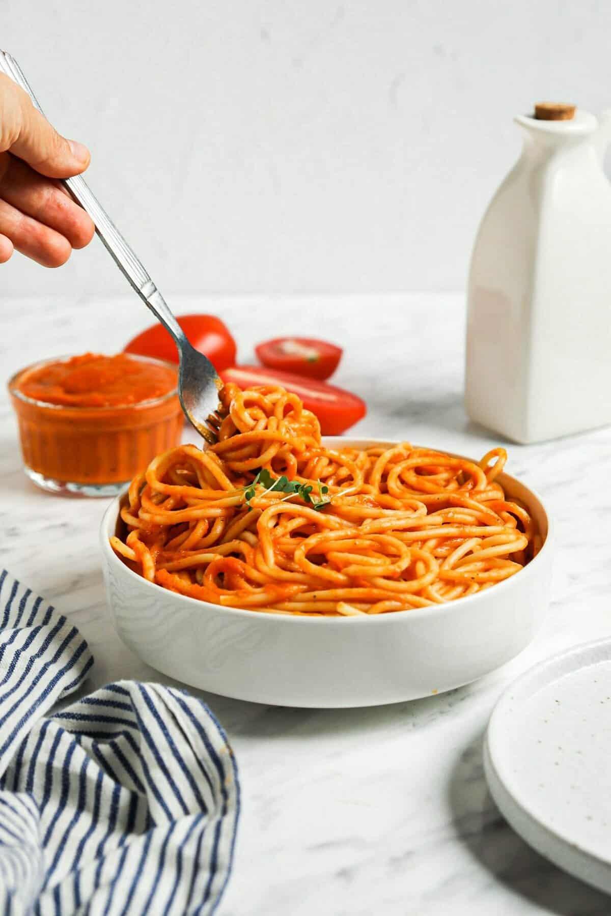 Tomato Veggie Pasta Sauce