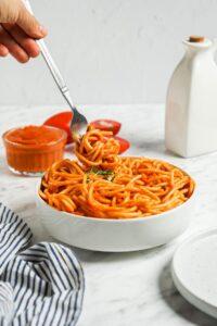 Vegan Roast Veggie Spaghetti Sauce