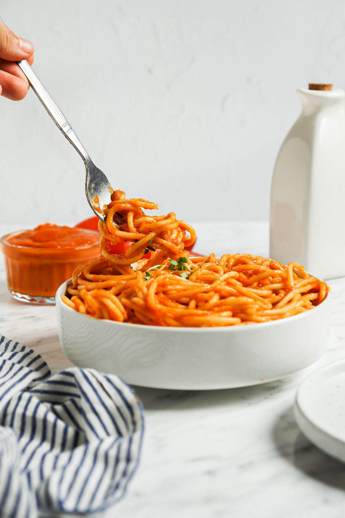 Quick Roast Veggie Spaghetti Sauce