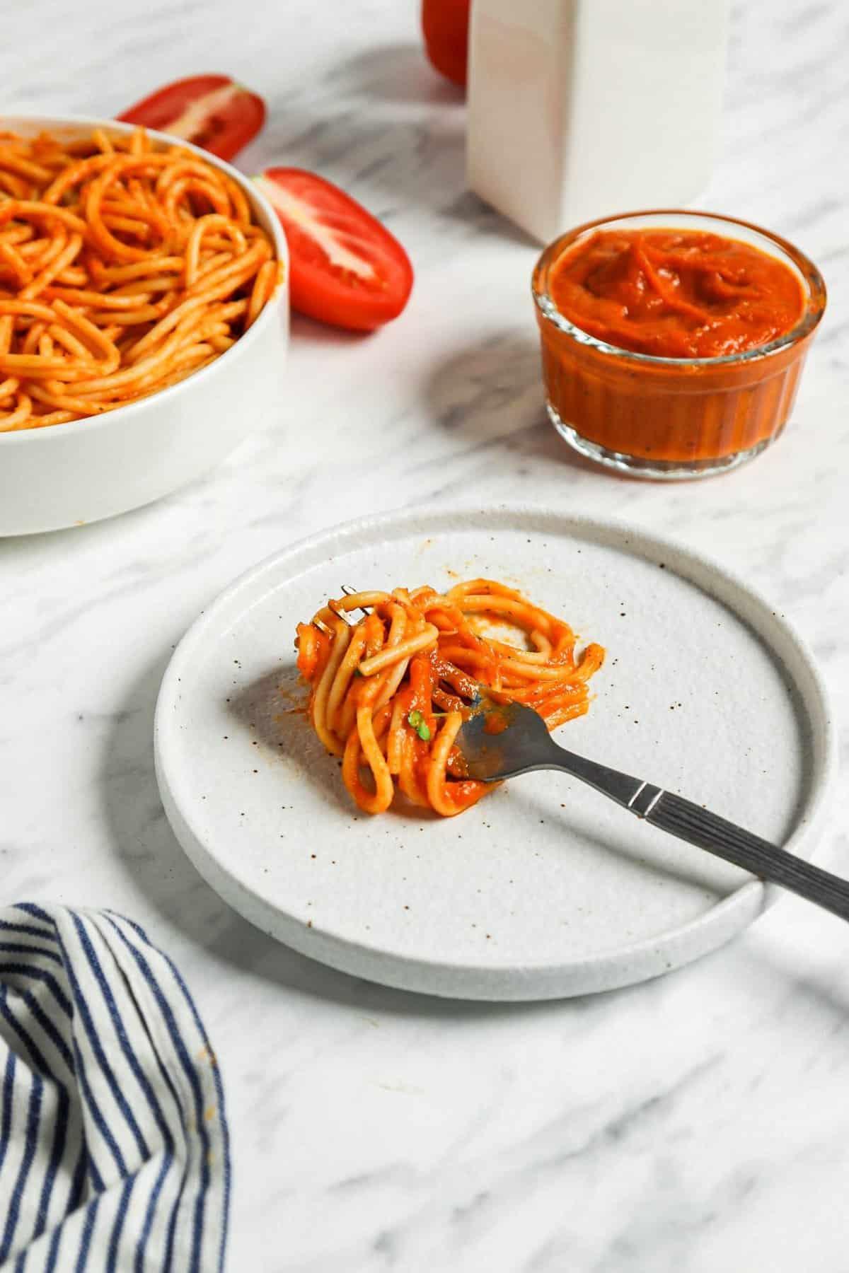 Veggie Tomato Spaghetti Sauce