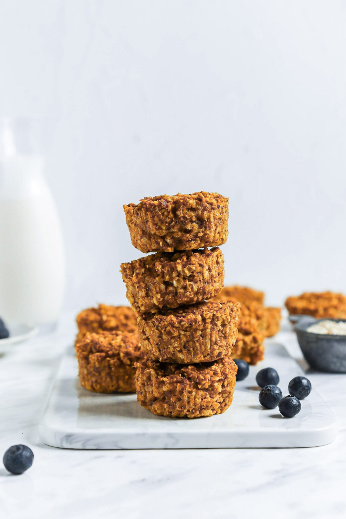 Freezer-Friendly Oatmeal Cups (vegan + gluten-free + nut-free + refined sugar-free)
