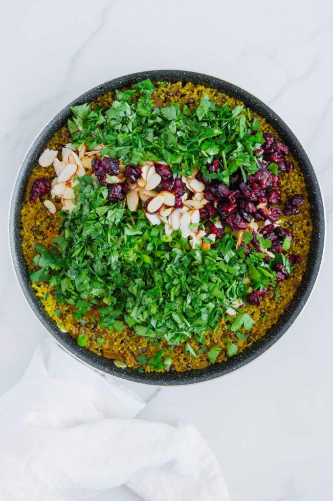 How to Make Lentil Quinoa Salad